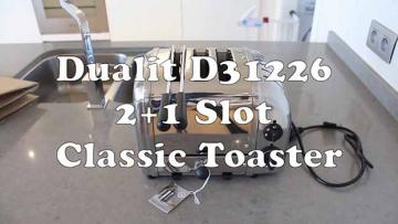 Dualit 31226 broodrooster 2+1 slots