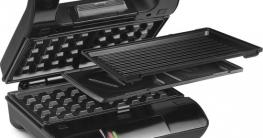 Nova 110302 Multi & Sandwich Grill Compact Pro kopen