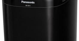 Panasonic SD-2511WXE zwart