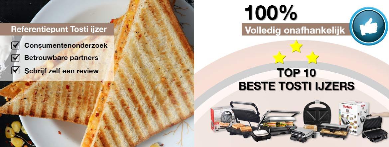 Beste tosti ijzer